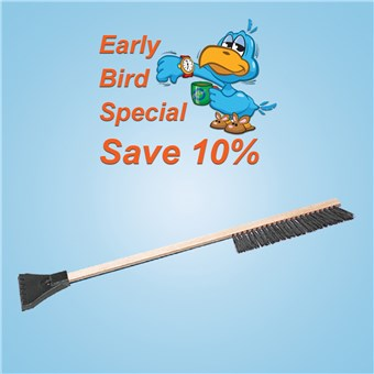 Econo Snowbrush (24 CT) - EARLY BIRD