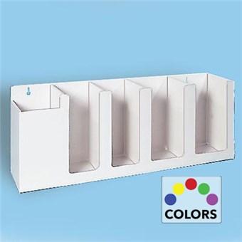 5 Compartment Lids & Straw Dispenser