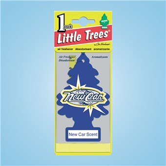 Tree Air Freshener - New Car (24 CT)