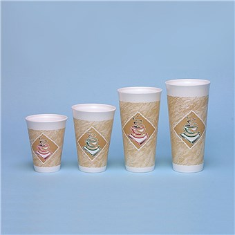 Foam Hot Cups - Cafe G
