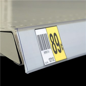 Self-Adhesive Data Strip Label Holder