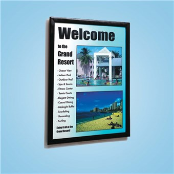 Plastic Wall Sign Frame