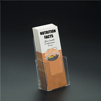 Single-Tier Literature Holder