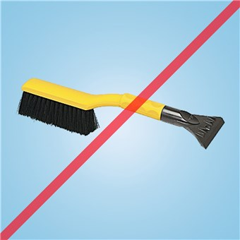 The SnoWEEvel Snow Brush (18 CT)