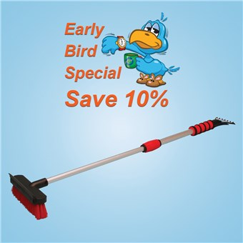 Telescoping SnoBroom (10 CT) - EARLY BIRD