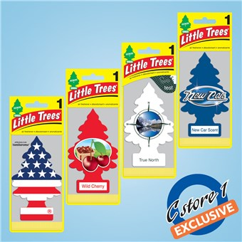 Air Freshener Assortment - Red, White & Blue (24 CT)