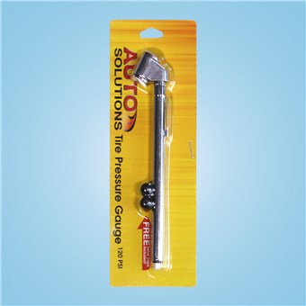 Dual Head Tire Gauge - 120 PSI