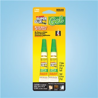 Super Glue Twinpak - Gel