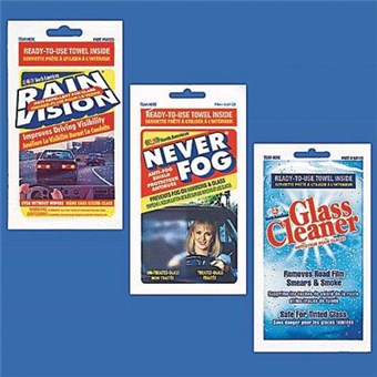 Windshield Care Pouch Assortment (48 CT)