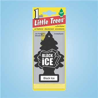 Tree Air Freshener - Black Ice (24 CT)
