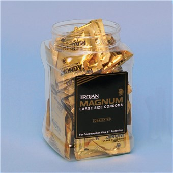 Trojan Magnum Tub Display (48 CT)