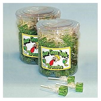 Sucker Bombs - Sour Green Apple (200 CT)