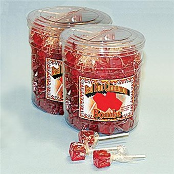 Sucker Bombs - Red Hot Cinnamon (200 CT)