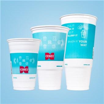 Plastic Cold Cups - CENEX