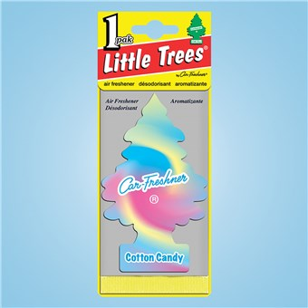 Tree Air Freshener - Cotton Candy (24 CT)