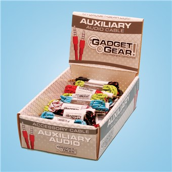 Auxiliary Audio Cables (30 CT)