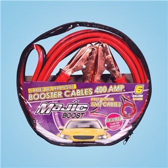 12-Foot Booster Cable Set