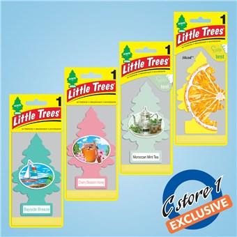 Tree Air Freshener Assortment - Fresh Scents (24 CT)