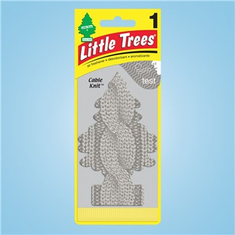 Tree Air Freshener - Cable Knit (24 CT)