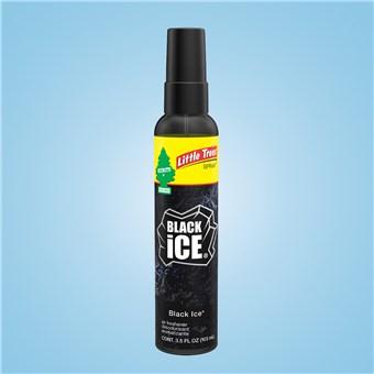 Little Trees Spray Bottles 3.5 oz - Black Ice (6 CT)
