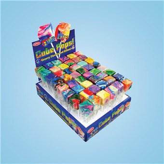 Tie-Dye Cube Pops (48 CT)