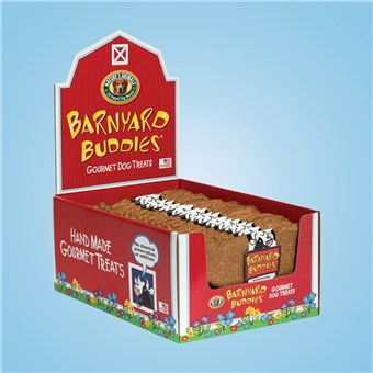Dog Bone Treats - Barnyard Cow (18 CT)