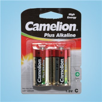 Alkaline Batteries - C Cell