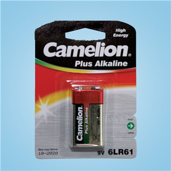Alkaline Battery - 9V
