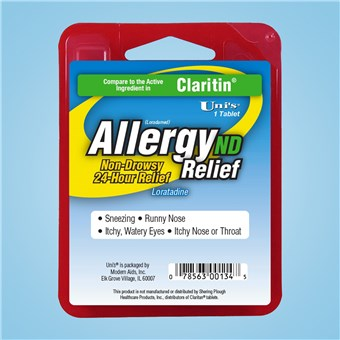 Uni's Allergy Relief ND (12 CT)
