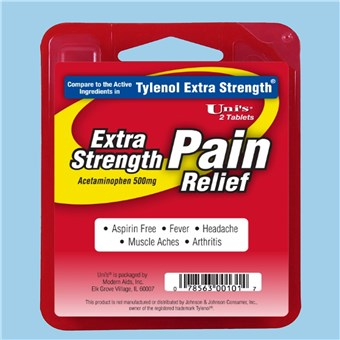 Uni's Extra Strength Pain Relief (12 CT)
