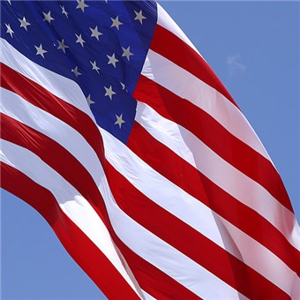 Outdoor U.S. Flag