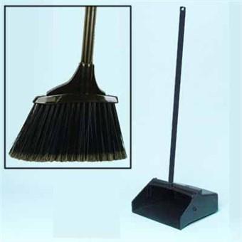 Floor & Driveway Dust Pan/Broom Combo