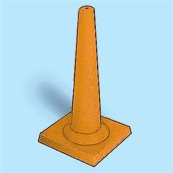 Heavy-Duty Plastic Driveway Cone