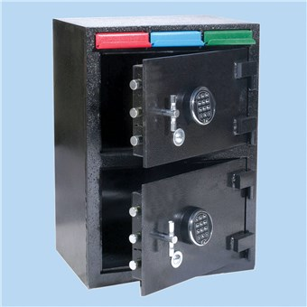 Cash Controller 2 Door Safe