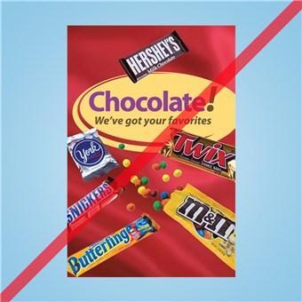 Flex Curb Sign - CHOCOLATE