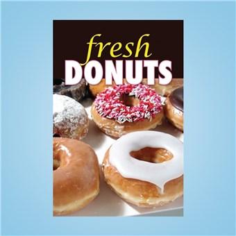 Flex Curb Sign - FRESH DONUTS