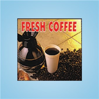 Vue-T-Ful Message Panel - FRESH COFFEE