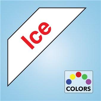 Corner Cooler Decal - ICE
