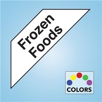 Corner Cooler Decal - FROZEN FOODS