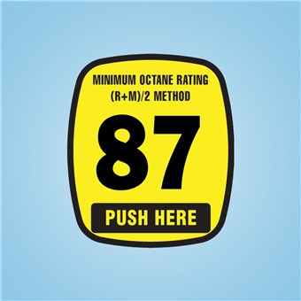 Wayne Ovation - Octane Rating Decal