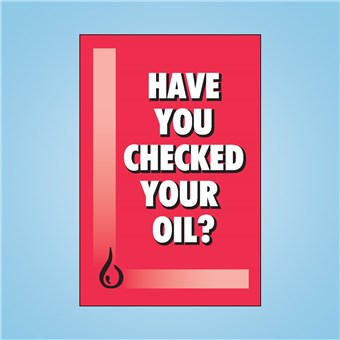 Sqawker Insert - CHECKED YOUR OIL?