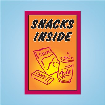 Sqawker Insert - SNACKS INSIDE