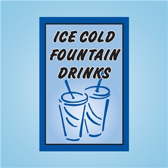 Sqawker Insert - ICE COLD FOUNTAIN DRINKS