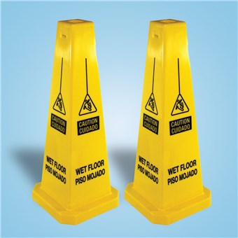 Wet Floor Cones - English/Spanish (2 CT)