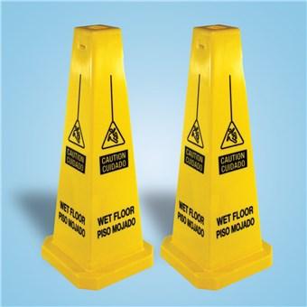 Wet Floor Cones - English/Spanish (2 CT)