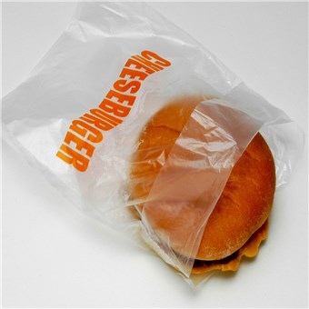 Clear Cheeseburger Bags - Saddle Pack (2000 CT)