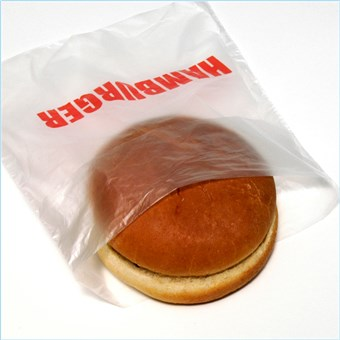 Clear Hamburger Bags - Saddle Pack (2000 CT)